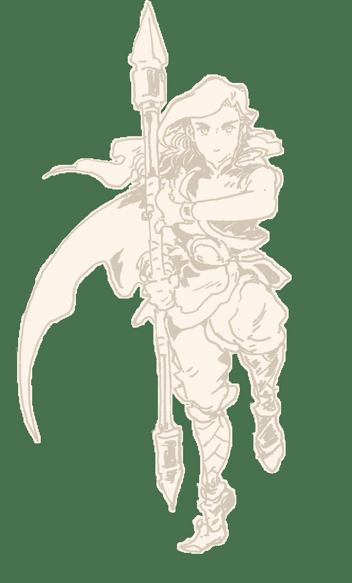 Valere the Moongirl sketch